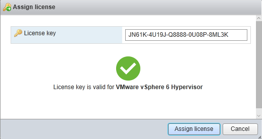 How to Add a License Key to VMware ESXi