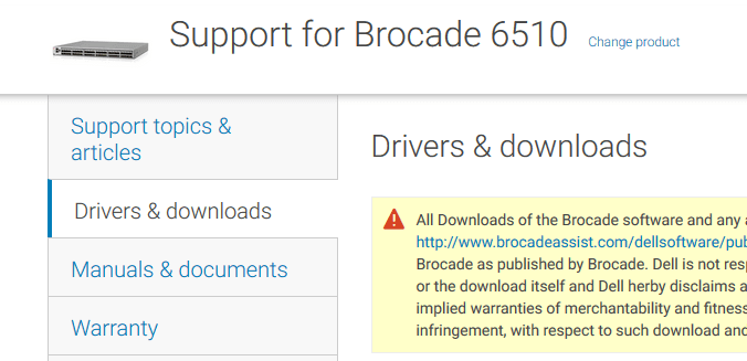 Upgrade Brocade SAN Switch Firmware Step-by-Step