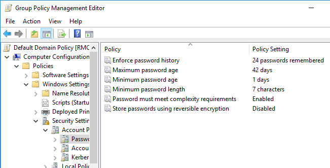 Configure Fine-Grained Password Policies for Specific Users