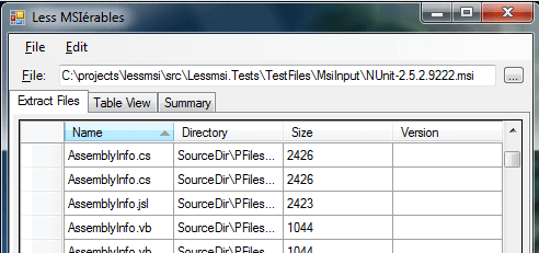 HowTo: Extract Files from a  MSI File using the Windows