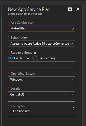 Understanding App Service Plans in Azure