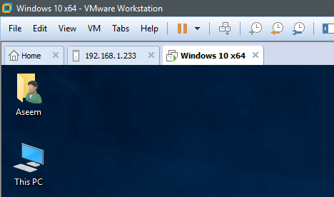 How to Setup VMware Workstation Server and Connect to Shared VMs