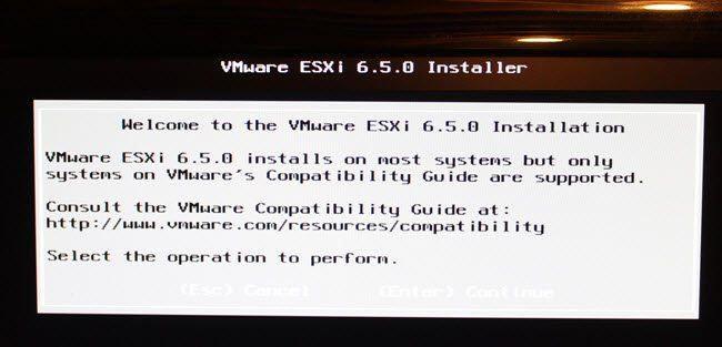 Install ESXi from USB on Bare Metal PowerEdge Server